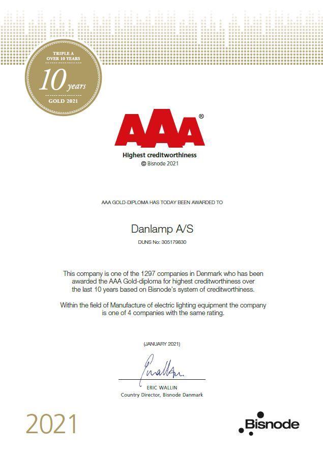 AAA kreditrating og kreditværdighed