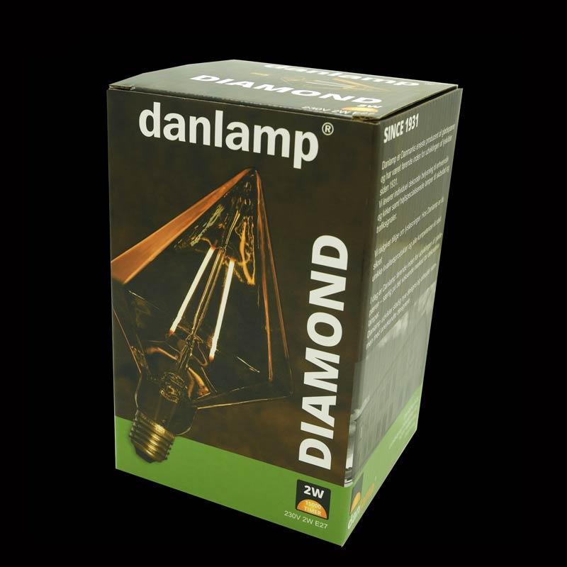 Diamant led emballage