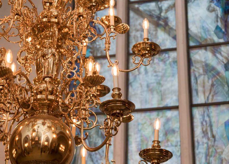 Nyborg kirke lysekrone