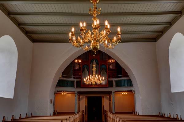 Kirke belysning