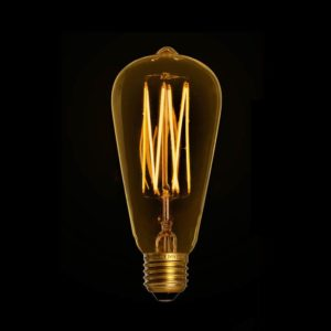 Edison gold LED