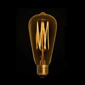 Edison gold LED